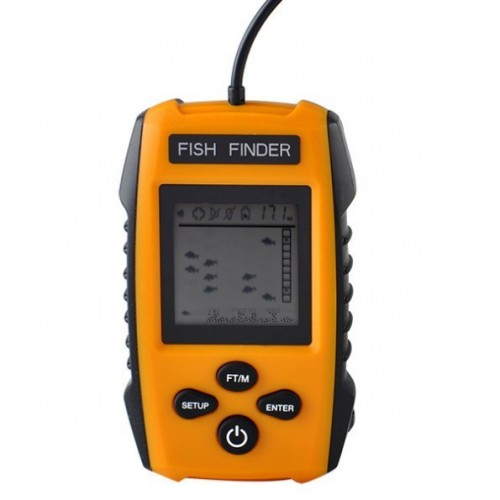 Portable Fish Finder Alarm Sensor Transd...