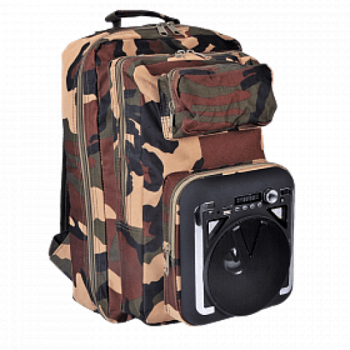 Bison CH-M34 Backpack with Bluetooth Spe...