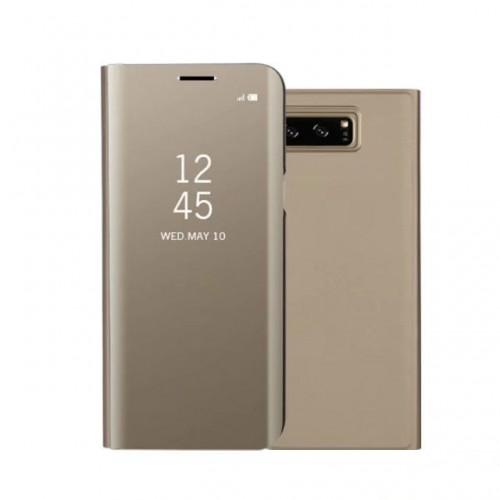 Mirror Flip Leather Case For Samsung Gal...